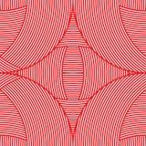 Rood naadloos patroon als achtergrond Stock Afbeeldingen