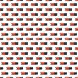 Rood nagellak naadloos patroon Royalty-vrije Stock Foto