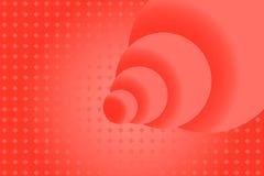 Rood nam abstracte achtergrond met gebieden toe stock illustratie