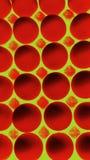 Rood op Geel stock illustratie