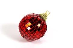 Rood Ornament Royalty-vrije Stock Foto's