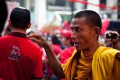 Rood overhemdenprotest in Bangkok Royalty-vrije Stock Foto