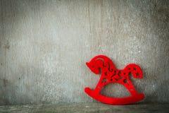 Rood paard - Nieuwjaar 2014 Royalty-vrije Stock Afbeeldingen