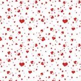 Het hangslotpatroon van de liefde Royalty-vrije Stock Afbeeldingen