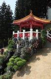 Rood Paviljoen Royalty-vrije Stock Afbeeldingen