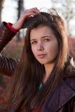Rood Portret Stock Afbeeldingen