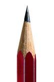 Rood potlood in hoge geïsoleerde resolutie over witte achtergrond Royalty-vrije Stock Afbeeldingen