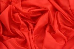 Rood satijn Royalty-vrije Stock Afbeeldingen