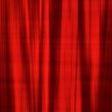 Rood satijnmateriaal Royalty-vrije Stock Afbeeldingen