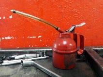 Rood Smeermiddel royalty-vrije stock afbeeldingen