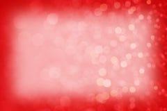 Rood Sparkly-Achtergrondtextuurkader Royalty-vrije Stock Foto