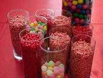 Rood suikergoed Royalty-vrije Stock Afbeeldingen