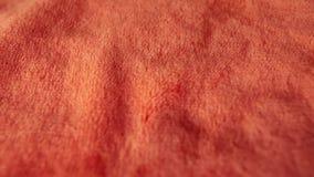 Rood synthetisch bont Kan als achtergrond worden gebruikt stock footage