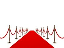 Rood tapijt Stock Foto's