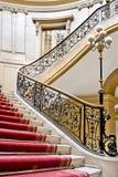 Rood tapijt. Royalty-vrije Stock Foto