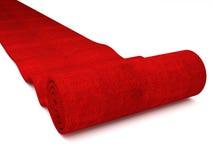 Rood tapijt Stock Afbeelding