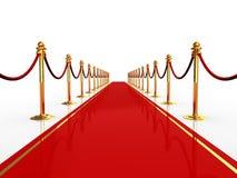 Rood tapijt Royalty-vrije Stock Afbeelding