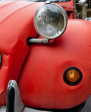 Rood Uitstekend autodetail Royalty-vrije Stock Foto's