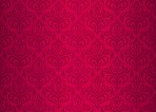 Rood uitstekend behang Stock Afbeeldingen