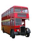 Rood Uitstekend Dubbel dek Royalty-vrije Stock Afbeelding