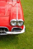 Rood uitstekend korvet royalty-vrije stock afbeeldingen