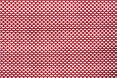 Rood van de de rol het blinde singelband van de texturenelektriciteitspanne Stock Foto