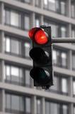Rood verkeerslicht Stock Afbeelding