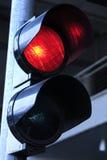 Rood verkeerslicht stock fotografie