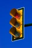Rood verkeerslicht Royalty-vrije Stock Afbeelding
