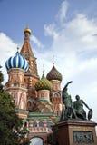 Rood Vierkant de kathedraaldetail van Moskou Stock Afbeeldingen
