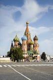 Rood Vierkant de kathedraaldetail van Moskou Stock Foto's