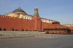 Rood Vierkant. Het Mausoleum van Lenin royalty-vrije stock afbeeldingen