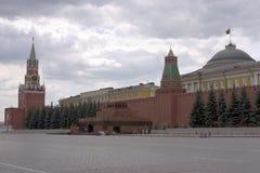 Rood vierkant Moskou Stock Foto's