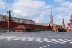 Rood Vierkant in Moskou Stock Afbeeldingen