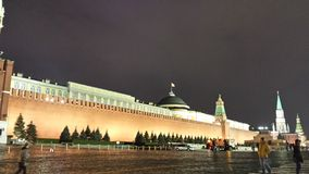 Rood vierkant Moskou Stock Fotografie