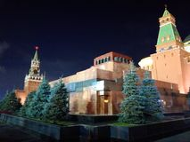 Rood Vierkant, Moskou, Rusland stock foto's