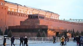 Rood Vierkant in Moskou, Rusland stock video