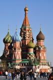 Rood Vierkant in Moskou, Rusland Stock Foto