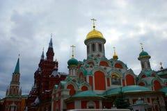 Rood Vierkant, Moskou, Rusland stock fotografie