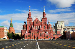 Rood vierkant in Moskou, Rusland, royalty-vrije stock afbeelding