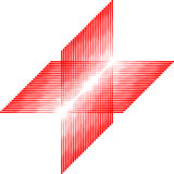 Rood vierkant patroon, naadloze tegel, vector Stock Afbeeldingen