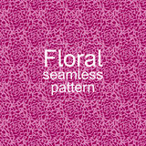 Rood-violet bloemen naadloos patroon Stock Afbeeldingen