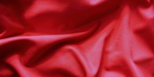 Rood vlagpatroon op de stoffentextuur, uitstekende stijl royalty-vrije stock fotografie
