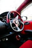 Rood wiel Stock Afbeeldingen
