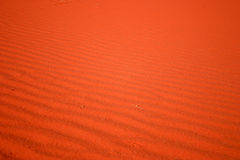 Rood zand Stock Foto