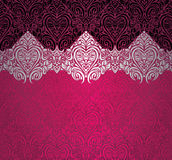 Rood & zwart modieus uitstekend ontwerp Royalty-vrije Stock Afbeelding