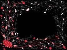 Rood-zwart patroon Royalty-vrije Stock Foto's