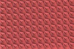 Roodachtige 3d textuur met shdows Stock Afbeeldingen