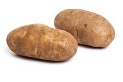 Roodbruine Aardappel Stock Afbeelding