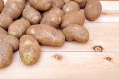 Roodbruine aardappel Stock Foto's